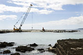 Pier construction — Stock Photo