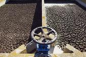 Wastewater sanitation plant — Stock Photo