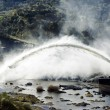 Stock Photo: Big water discharge