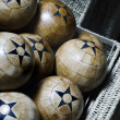 Wood balls - Stock Photo
