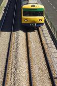 Suburban trein — Stockfoto