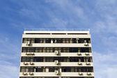 Szare starego budynku — Zdjęcie stockowe