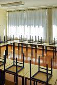 Empty schoolroom — Stock Photo