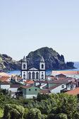 Dorp van lages do pico island, azoren — Stockfoto