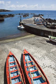 Small harbour of Ribeiras in Pico island, Azores — Stock Photo