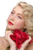 мода макияж — Стоковое фото