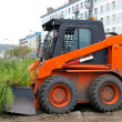 Machine for removing sod — Foto Stock