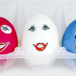Funny eggs — Stock Photo #5622446