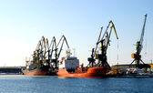 Nei porti marittimi — Foto Stock