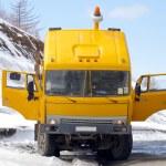 Yellow cabin — Stock Photo