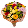 Colorful bouquet of flowers — Stock Photo #6141831