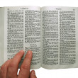 Reading the Bible — Stock Photo