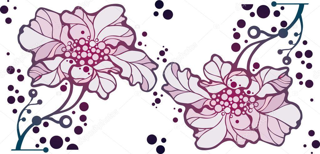 Рисунки из двух цветов
