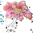 Royalty-Free Stock Vector Image: Pink flower