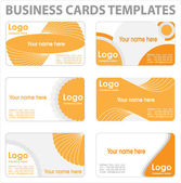 Business cards templates — Stock Vector