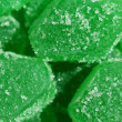 Green jelly — Stock Photo