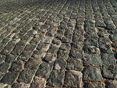 Cobblestone masonry — Stock Photo