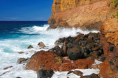 Waves on the North Coast of Hawaii — Stock Photo