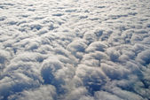 Stratus Clouds from above — Stock Photo