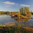 Early Morning in Canoe Country - Stockfoto