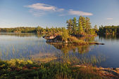 Early Morning in Canoe Country — Stock Photo