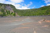 View from a volcanic crater — Stock Photo