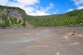 Widok z krateru wulkanicznego — Zdjęcie stockowe