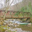 Old Bridge in smokies — Stock Photo #5691906