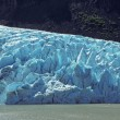 Stock Photo: Glacial Ice in the Mountains