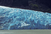 Glacial Ice in the Mountains — Stock Photo
