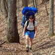 Stock Photo: Backpacking in Smokies