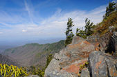 Rocks and Valleys form the Appalachian Trail — Stock Photo