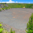Stock Photo: Volcanic Crater in Tropics