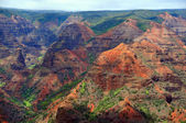Waimea canyon no havaí — Fotografia Stock