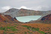 The Kusatusu-Shirane Caldera — Stock Photo