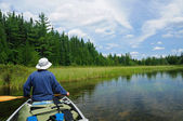 Canoeing in the Quetico — Stock Photo