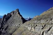 Dağlar gökyüzü — Stok fotoğraf
