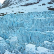 Foto Stock: Ice Falls of Muir Glacier
