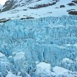 Stock Photo: Ice Falls of Muir Glacier