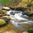 Stock Photo: Mountain stream in the spring
