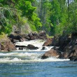Canyon falls in the Quetico — ストック写真
