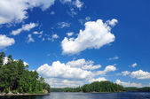 Summer Skies in Canoe Country — Stock Photo