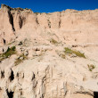 Badlands Escarpment — Stock Photo