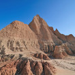 Stock Photo: Badlands in morning