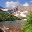 Alpine Lake in the Summer — Stock Photo