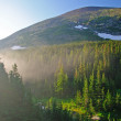 Mist in the mountains — Stock Photo