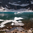 Iceberg Lake in Montana — Stock Photo