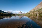 Morning on an Alpine Lake — Stock Photo