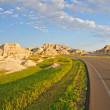 Road to the Badlands — Stock Photo