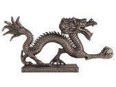 Dragon statuette — Stock Photo